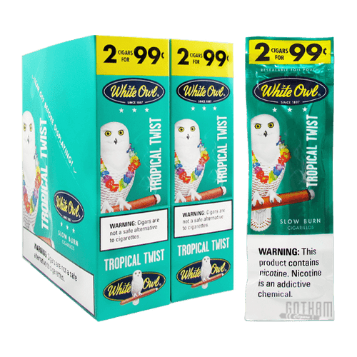 White Owl Cigarillos Tropical Twist
