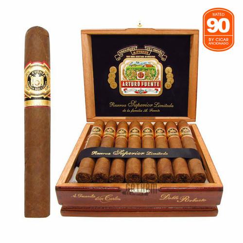 Arturo Fuente Don Carlos Double Robusto Open Box and Stick