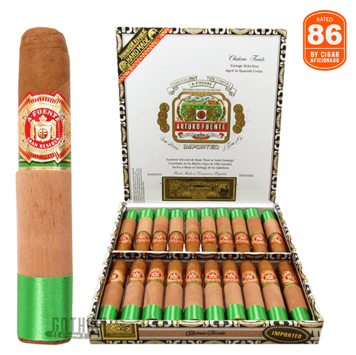 Arturo Fuente Chateau Fuente Natural Box and Stick