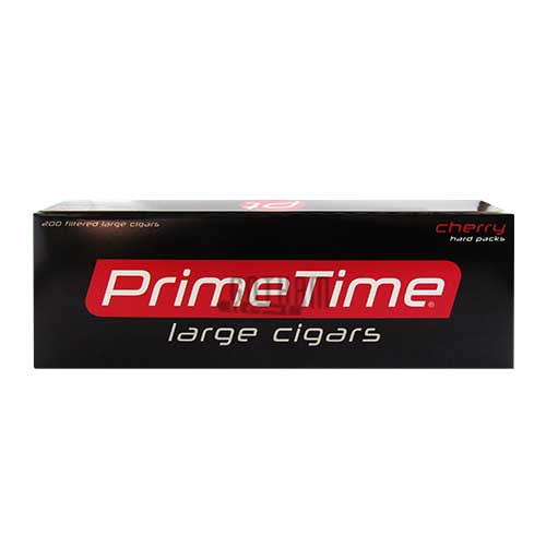 Prime Time Large Cigars Cherry Box