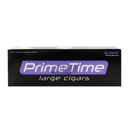 Prime Time Large Cigars Grape Box