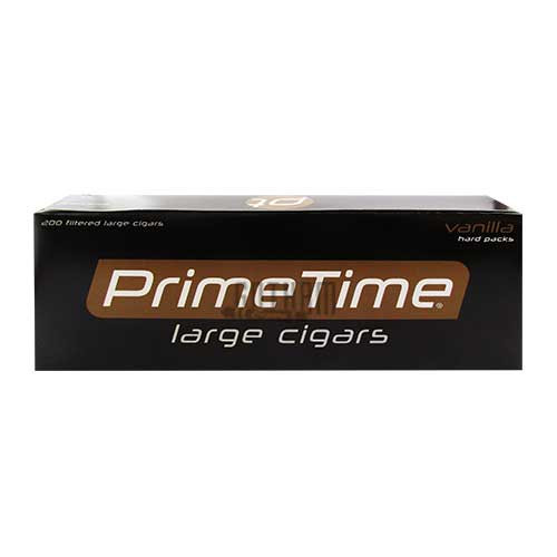 Prime Time Large Cigars Vanilla Box