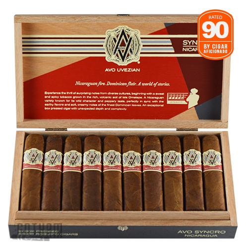 AVO Syncro Nicaragua Short Robusto Box