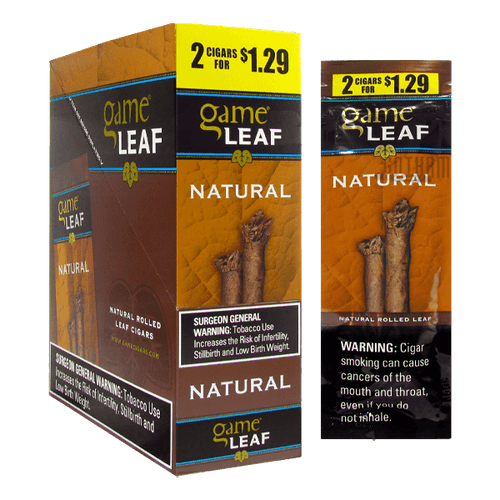 Garcia y Vega Game Leaf Natural