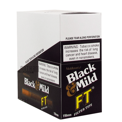 Black and Mild Filter Tip Box