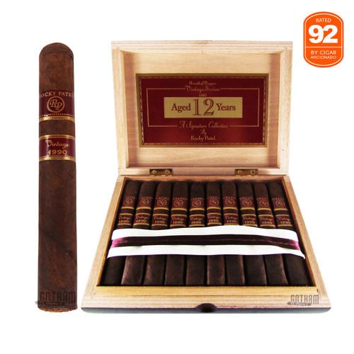 Rocky Patel Vintage 1990 Robusto Cigar Box
