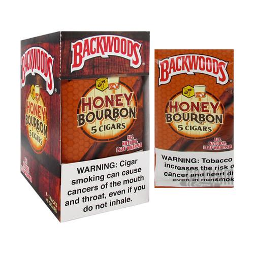 Backwoods Honey Bourbon Box and Foil Pack