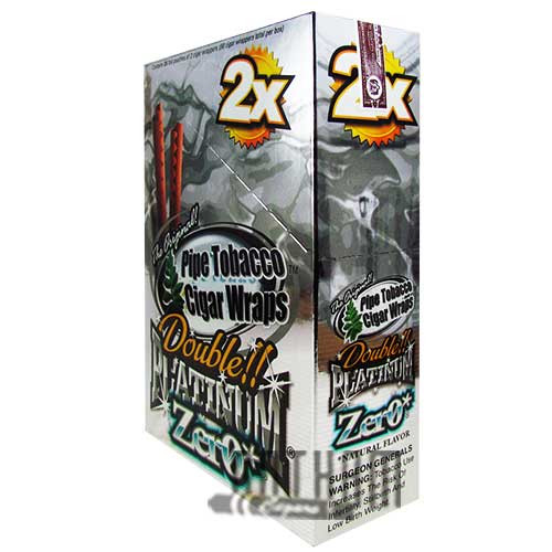 Blunt Wrap Double Platinum Zero