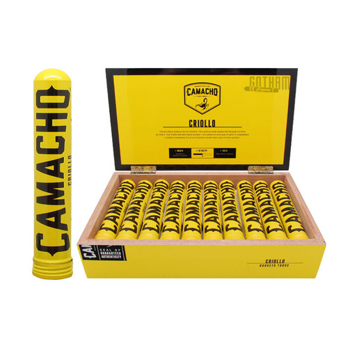 Camacho Criollo Robusto Tubo Open Box and Stick
