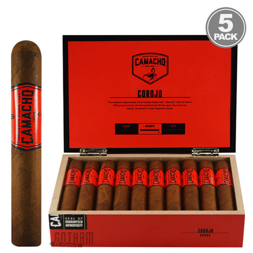 Camacho Corojo Gordo BOX AND 5 PACK