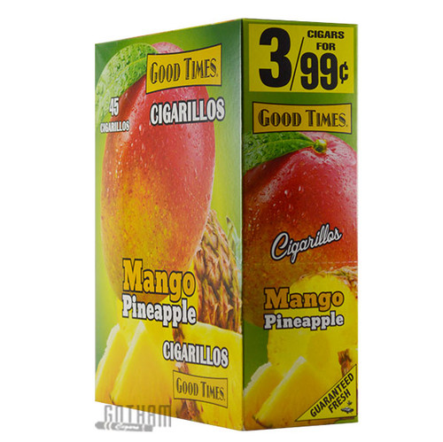 Good Times Cigarillos Mango Pineapple Box
