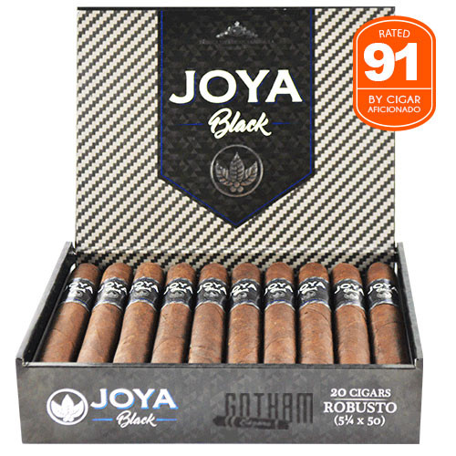 Joya Black Robusto Box