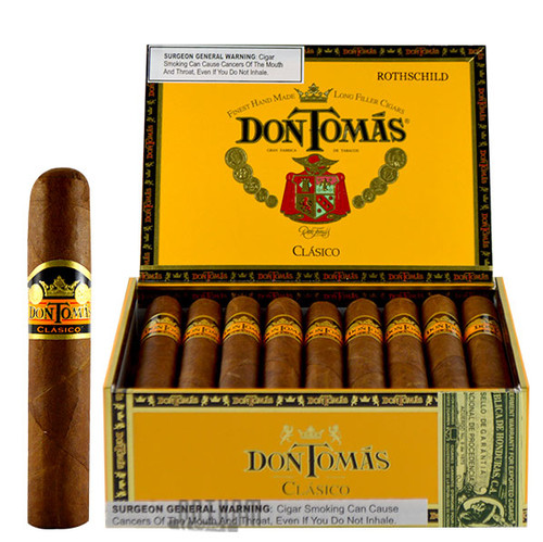 Don Tomas Clasico Rothschild Open Box and Stick