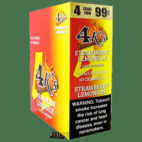 Good Times 4Ks Cigarillos Strawberry Lemonade Box