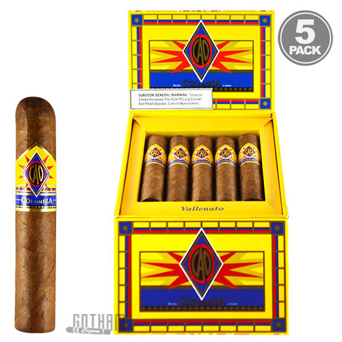 CAO Colombia Vallenato Box & Five Pack