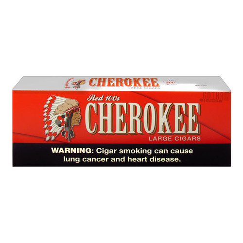 Cherokee Filtered Cigars Full Flavor Box
