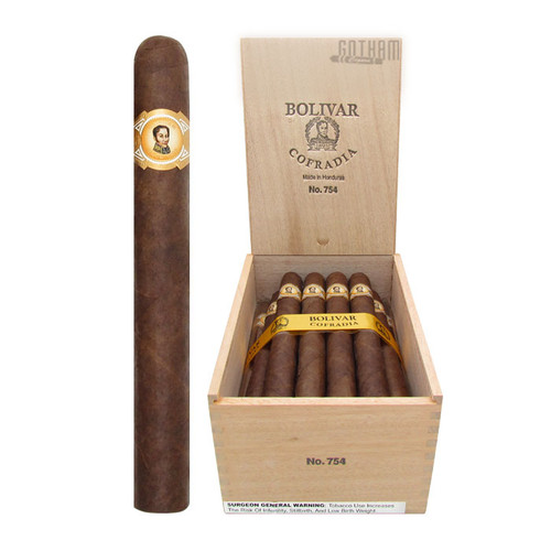 Bolivar Cofradia No. 754 Open Box and Stick