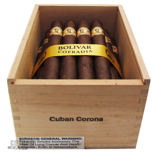 Bolivar Cofradia Cuban Corona Open Box