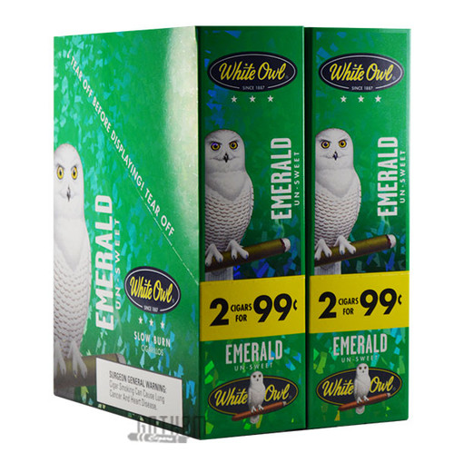 White Owl Cigarillos Emerald