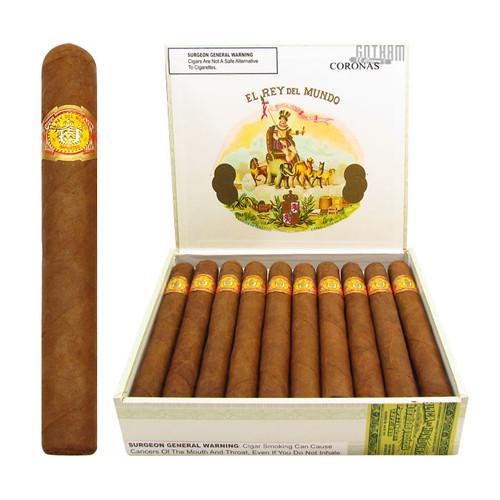 El Rey del Mundo Corona Open Box and Stick
