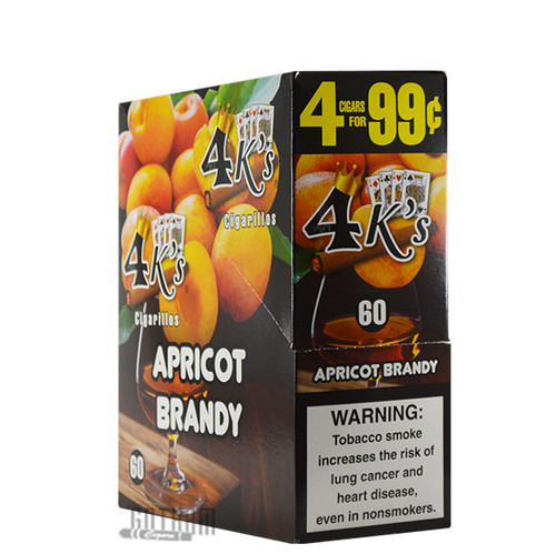 Good Times 4Ks Cigarillos Apricot Brandy