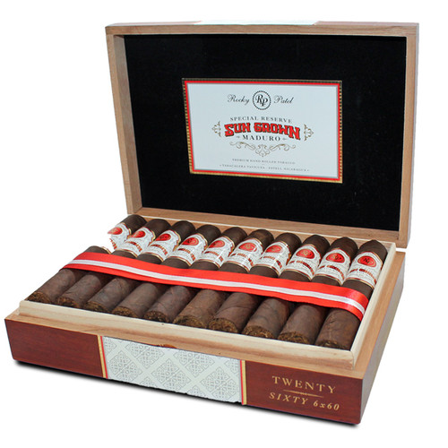 Rocky Patel Sun Grown Maduro Sixty Box
