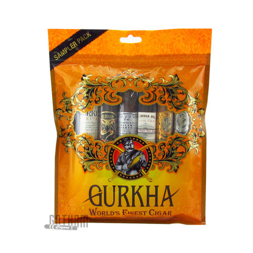 Gurkha Toro Fresh Pack 6 Cigar Sampler