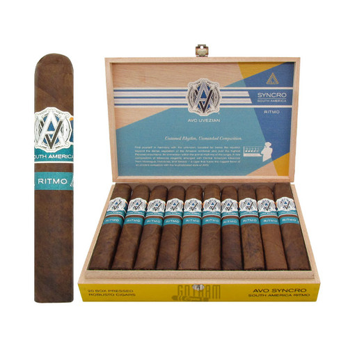Avo Syncro Ritmo Robusto Open Box and Stick
