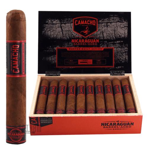 Camacho Nicaraguan Barrel-Aged Gordo Box and Stick