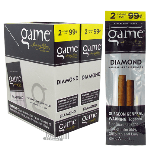 Game Cigarillos Diamond Box and Pack