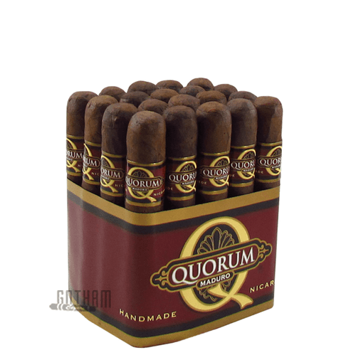 Quorum Maduro Robusto 20 Cigar Bundle