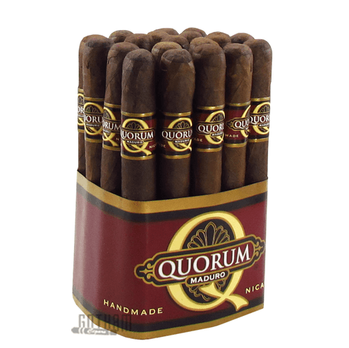 Quorum Maduro Corona 20 Cigar Bundle