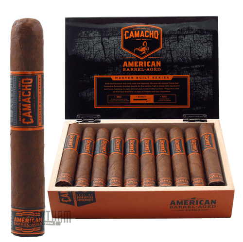 Camacho American Barrel-Aged Gordo Box and Stick