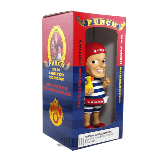 Limited Edition Mr. Punch Bobblehead 2018 Box