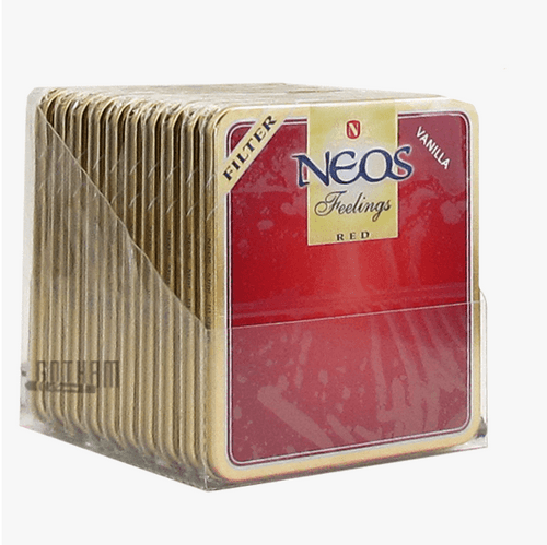 Neos Feelings Filtered Red Vanilla Pack