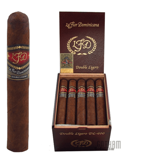 La Flor Dominicana Double Ligero 600 Box & Stick