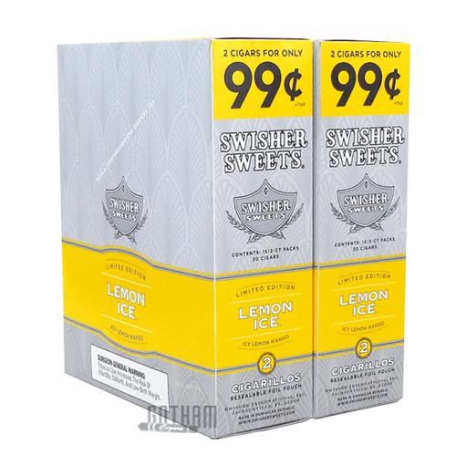 Swisher Sweets Cigarillos Lemon Ice Box