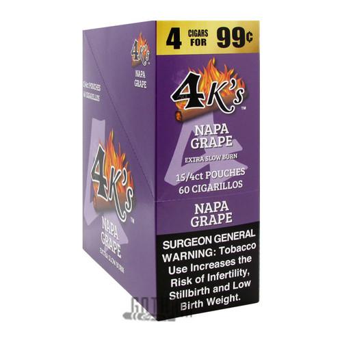 Good Times 4Ks Cigarillos Napa Grape Box