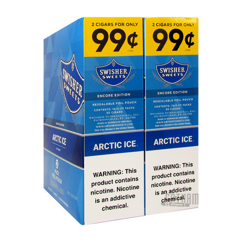 Swisher Sweets Cigarillos Arctic Ice Box