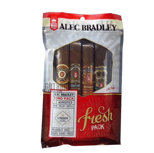 Alec Bradley Fresh Pack Toro Sampler Bag