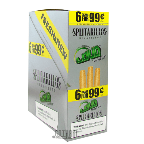 Splitarillos Cigarillos Loud Box