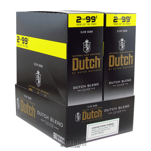 Dutch Masters Cigarillos Dutch Blend Silver Box