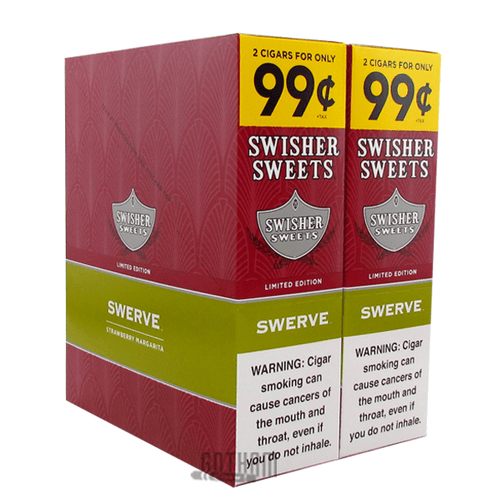 Swisher Sweets Cigarillos Swerve Box