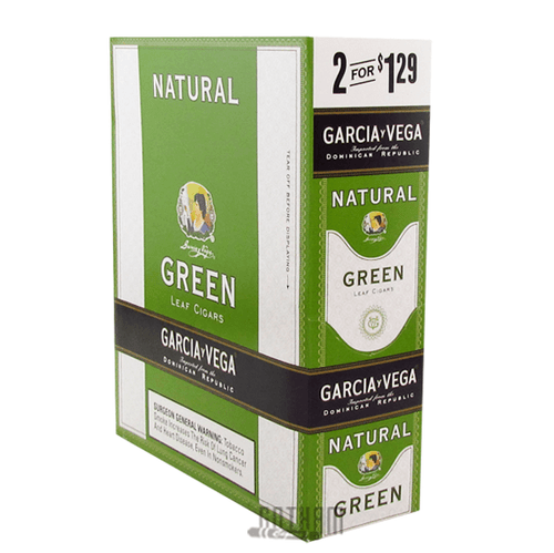 Garcia Y Vega Natural Cigarillo Green Box