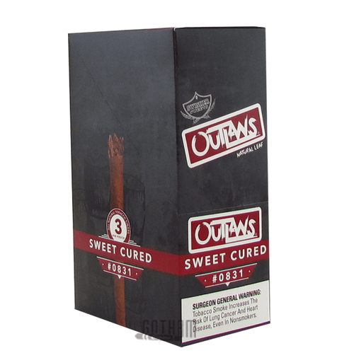 Swisher Sweets Outlaw Sweet Cured Box