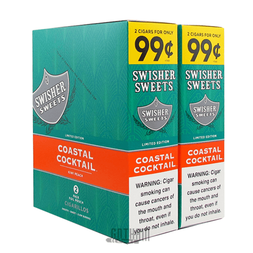 Swisher Sweets Cigarillos Coastal Cocktail Box