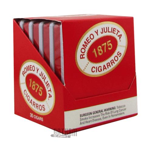 Romeo y Julieta 1875 Petit Bully Box