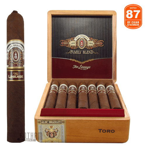 Alec Bradley The Lineage Toro Box and Stick