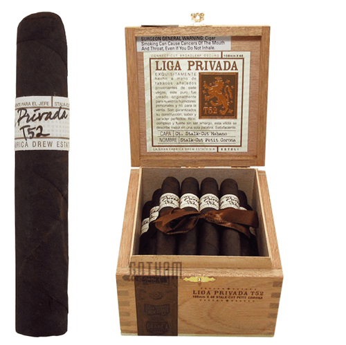 Liga Privada T52 Petit Corona  Box and Stick