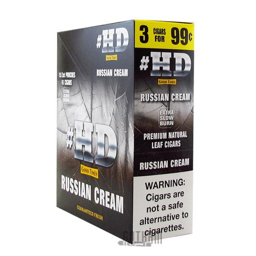 Good Times Cigarillos #HD Russian Cream Box